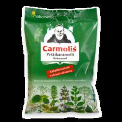 Carmolis Yrttikaramelli sokeriton 72 g