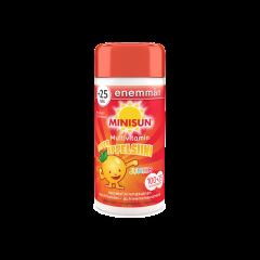 Minisun Super Appelsiini Multivitamin Jr 100+25 tabl