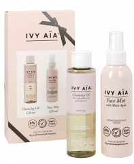 IVY AIA GIFTBOX FACE MIST & CLEANSING OIL 120ML+120ML