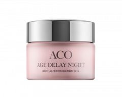 ACO FACE AGE DELAY NIGHT CREAM NORMAL SKIN P 50 ML