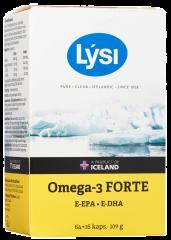 LYSI OMEGA-3 FORTE KAPS X64 FOL