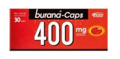 BURANA-CAPS 400 mg kaps, pehmeä 30 fol
