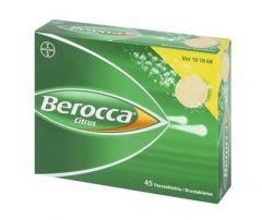 BEROCCA CITRUS poretabl 45 kpl